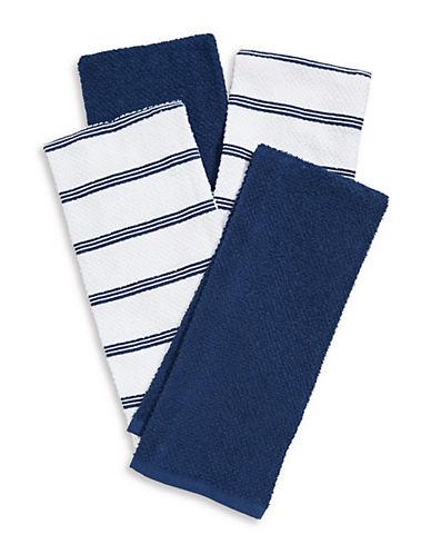 Essential Needs Four-Set Kitchen Towels-BLUE-Kitchen Towel