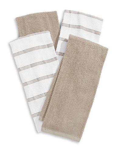 Essential Needs Four-Set Kitchen Towels-BROWN-Kitchen Towel