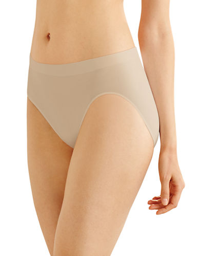 Bali Smooth Microfibre Hi-Cut Panties-NUDE-Large