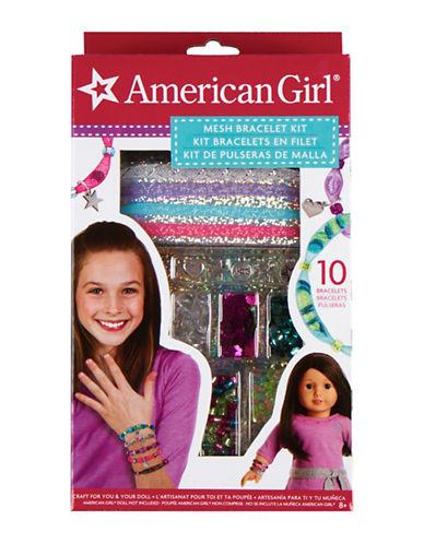 Fashion Angels American Girl Mesh Bracelet Kit-MULTI-One Size