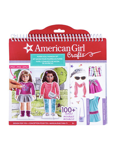 Fashion Angels American Girl Paper Doll Stylist Set-MULTI-One Size