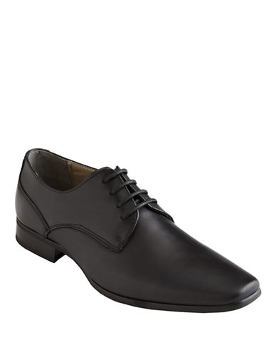 Calvin Klein Brodie Oxford Shoes-BLACK-8.5