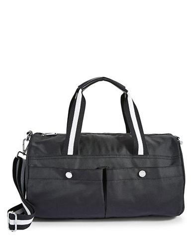 Calvin Klein Athleisure Nylon Satchel-BLACK-One Size 88781686_BLACK_One Size
