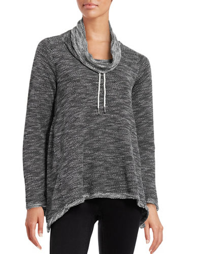 Calvin Klein Performance Performance Cowl Neck Pullover-BLACK-Small 88611889_BLACK_Small