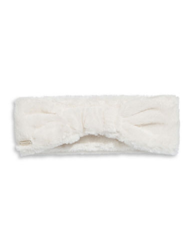 Calvin Klein Faux Fur Headband-CREAM-One Size