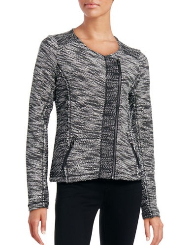 Calvin Klein Performance Marled Soft Moto Jacket-GREY-Medium 88509074_GREY_Medium