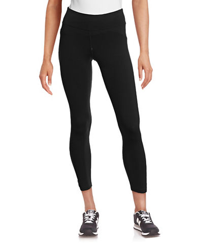 Calvin Klein Performance Performance Stretch Leggings-BLACK-Medium