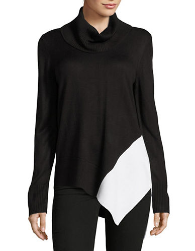 Calvin Klein Asymmetric-Hem Turtleneck-BLACK-Large 88732831_BLACK_Large