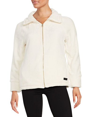 Calvin Klein Performance Faux Mink Performance Jacket-WHITE-Large 87893918_WHITE_Large