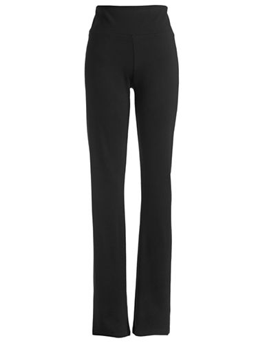 Calvin Klein Performance Ponte Performance Straight Pants-BLACK-Medium