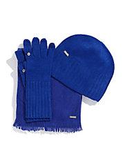 CALVIN KLEINThree Piece Hat Glove and Scarf Set