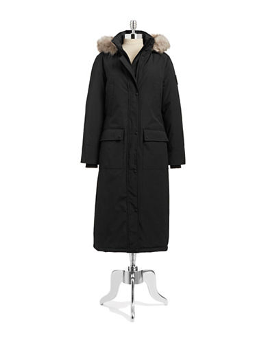 Calvin Klein The Coat Edit Long Performance Parka-BLACK-X-Small 87662454_BLACK_X-Small