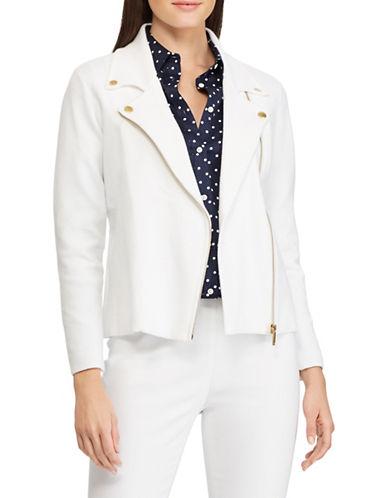 Chaps Rib-Knit Moto Jacket-WHITE-Large 89960111_WHITE_Large