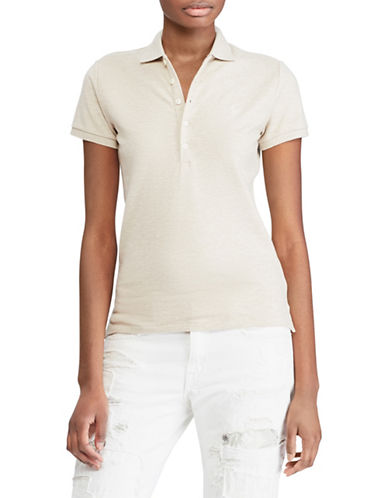 Polo Ralph Lauren Slim-Fit Stretch Polo-BEIGE-X-Large