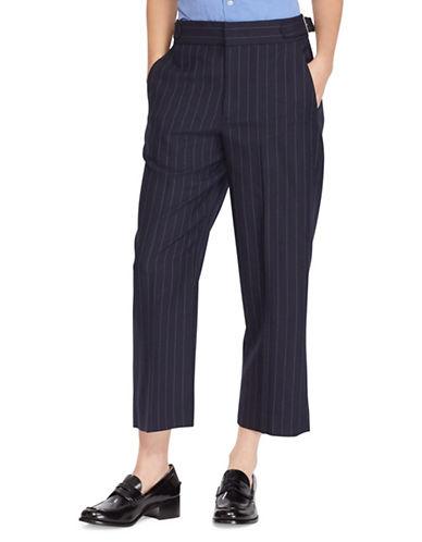 Polo Ralph Lauren Pinstripe Merino Wool Pant-NAVY-4