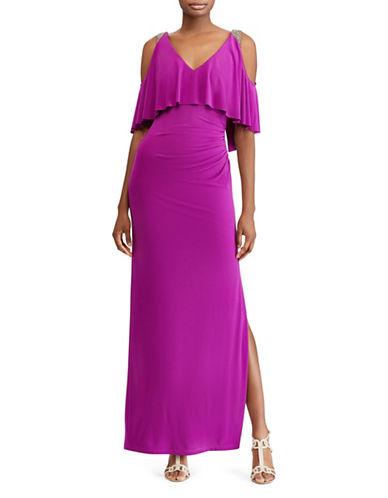Lauren Ralph Lauren Bellis Embroidered Evening Gown 89912180