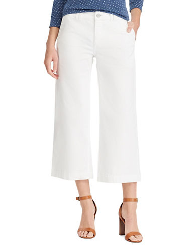 Chaps Wide-Leg Stretch Capri Jeans-WHITE-6