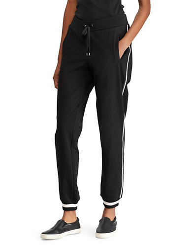 Lauren Ralph Lauren Athletic Jogger Pants-POLO BLACK-X-Small 89956010_POLO BLACK_X-Small