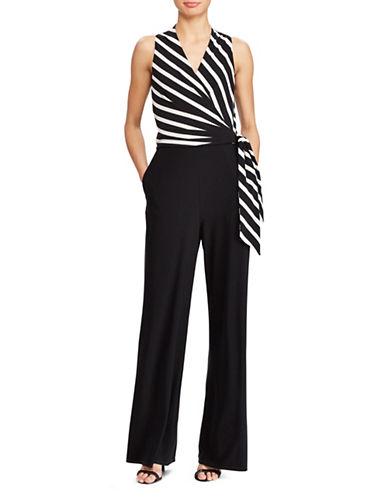Lauren Ralph Lauren Jersey Ritanna Jumpsuit-BLACK-12 89899135_BLACK_12