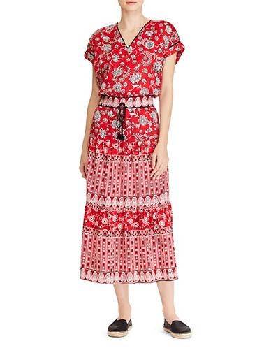 Morowa Floral Midi Dress by Lauren Ralph Lauren