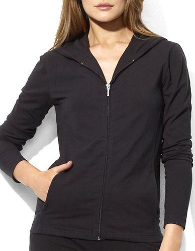 Lauren Ralph Lauren Yoga Hoodie-BLACK-Medium 73074163_BLACK_Medium