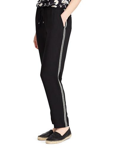 Lauren Ralph Lauren Mid-Rise Straight Track Pants 89956065