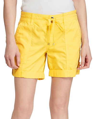 Lauren Ralph Lauren Stretch Cotton Shorts 90088897
