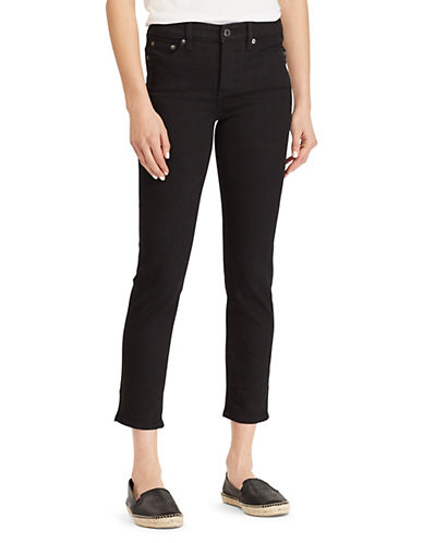 Lauren Ralph Lauren Petite Jean à jambe droite classique 90155197