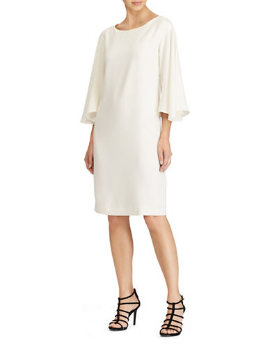 Lauren Ralph Lauren Bell-Sleeve Shift Dress-NATURAL-4