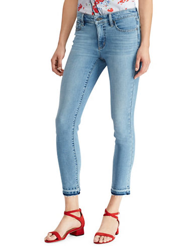 Lauren Ralph Lauren Premier Straight Crop Jeans-BLUE WASH-6