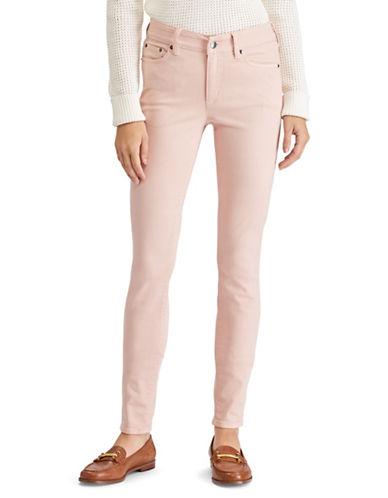 Lauren Ralph Lauren Petite Premier Skinny Jeans-PINK-Petite 12