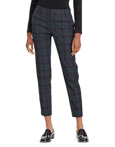 Polo Ralph Lauren Twill High-Rise Straight Pants-MULTI-12