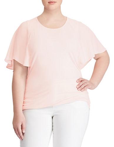 Lauren Ralph Lauren Plus Plus Cape Overlay Top 89857882