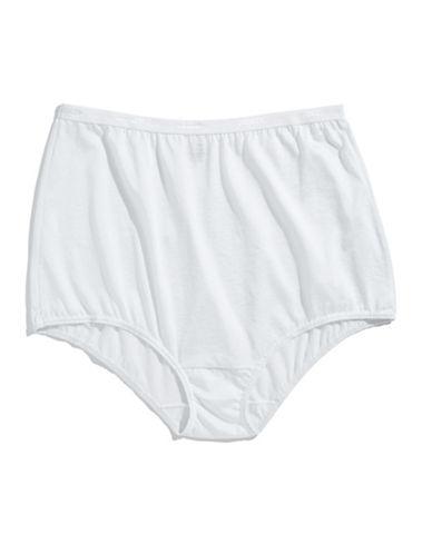 Jockey Silks Briefs-WHITE-9