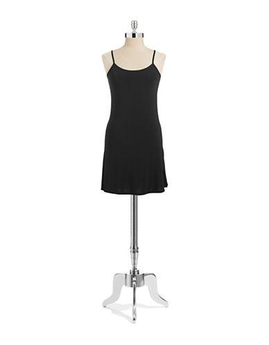 Jockey No Panty Line Chemise-BLACK-X-Large plus size,  plus size fashion plus size appare