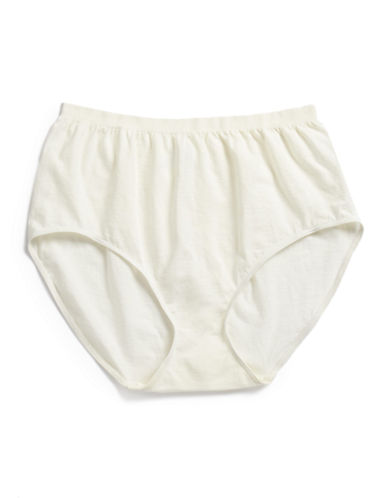 Jockey Comfies Seamfree Briefs-IVORY-5