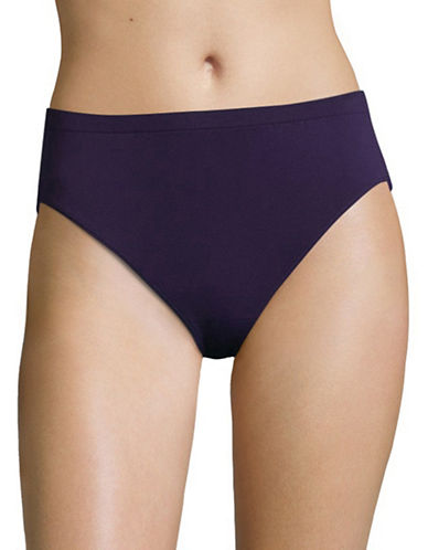 Jockey Comfies Seamfree Microfibre French Cut Briefs-PLUM PURPLE-8