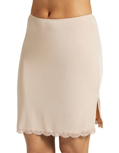 Jockey Tactel Lace Half Slip-NUDE-Medium