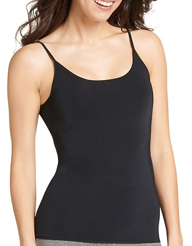 Jockey Luxe Camisole-BLACK-Small