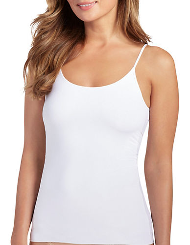 Jockey Luxe Camisole-WHITE-X-Large