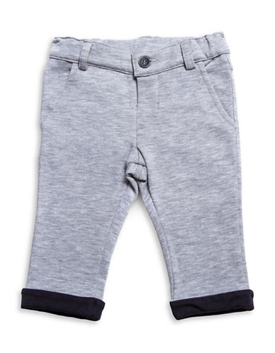 Guess Ribbed Cuff Pants-GREY-6-9 Months 88666666_GREY_6-9 Months