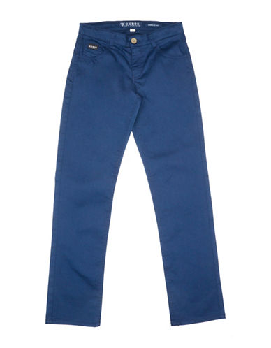 Guess Regular-Fit Woven Pants-BLUE-12