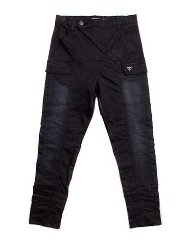 Guess Cargo Pocket Pants-BLACK-X-Large 88738286_BLACK_X-Large