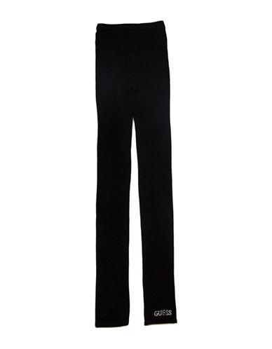 Guess Footless Logo Leggings-BLACK-X-Small/Small 88511739_BLACK_X-Small/Small