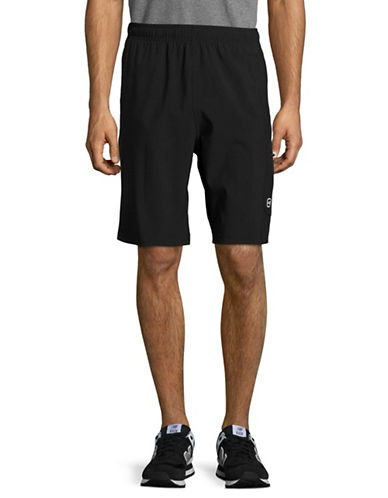 Free Country Four-Way Stretch Shorts-BLACK-Medium