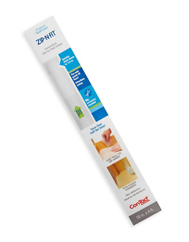 Contact Zip-N-Fit Solid Grip Liner-CLEAR-One Size