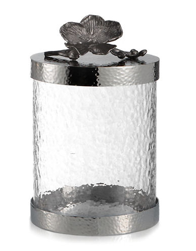 Michael Aram Black Orchid Extra Small Canister-BLACK-One Size