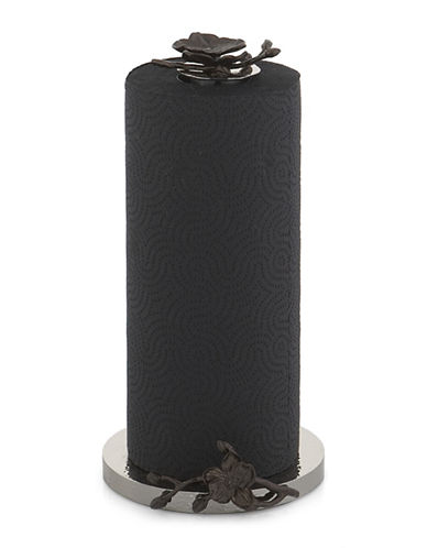 Michael Aram Black Orchid Paper Towel Holder-BLACK-One Size