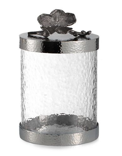 Michael Aram Black Orchid Small Canister-BLACK-One Size