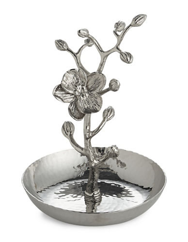 Michael Aram White Orchid Ring Catcher-SILVER-One Size